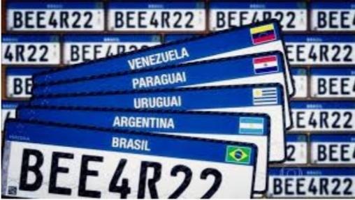 """Rio de Janeiro é primeiro estado do Brasil a adotar """"Placa Mercosul"""""""