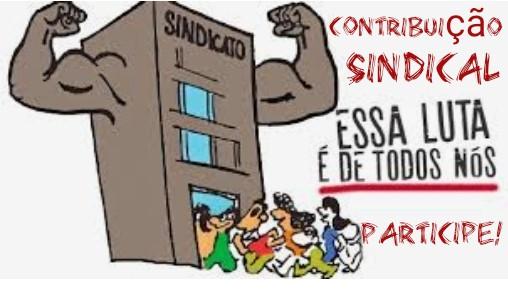 Campanha de contribuição sindical, participe!