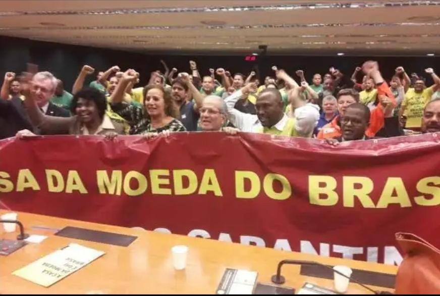 Deputados do PSL são contra a privatização da Casa da Moeda