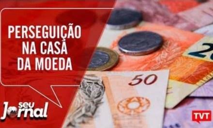 Trabalhadores da Casa da Moeda denunciam perseguição de indicados por Bolsonaro