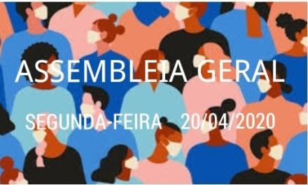 EDITAL DE CONVOCAÇÃO  ASSEMBLEIA GERAL EXTRAORDINÁRIA PARA O DIA 20/04/2020