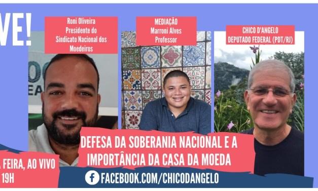 Live em Defesa da Soberania Nacional e a Importância da Casa da Moeda