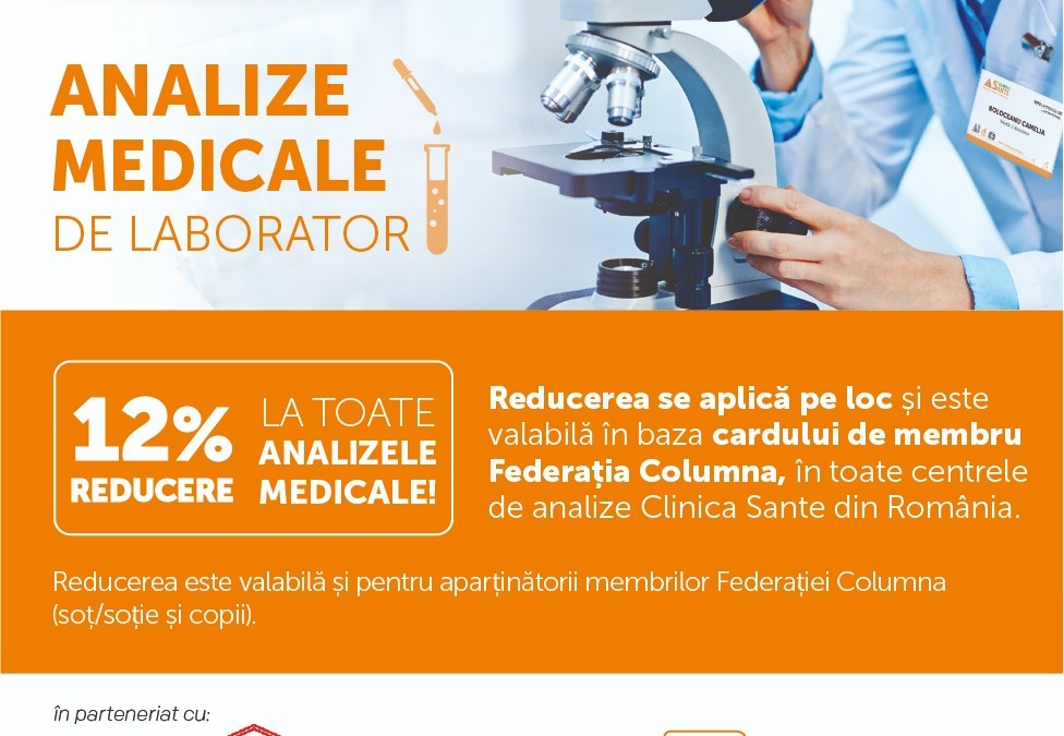 Parteneriat Clinica SANTE
