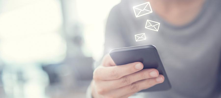 convocação por email