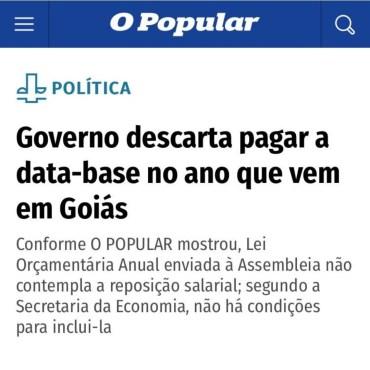 DATA – BASE: DIREITO DO SERVIDOR