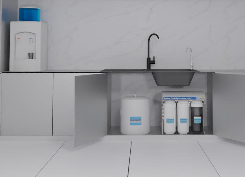 صورة ثلاثية الابعاد لفلتر ماء بيوركم CE-4