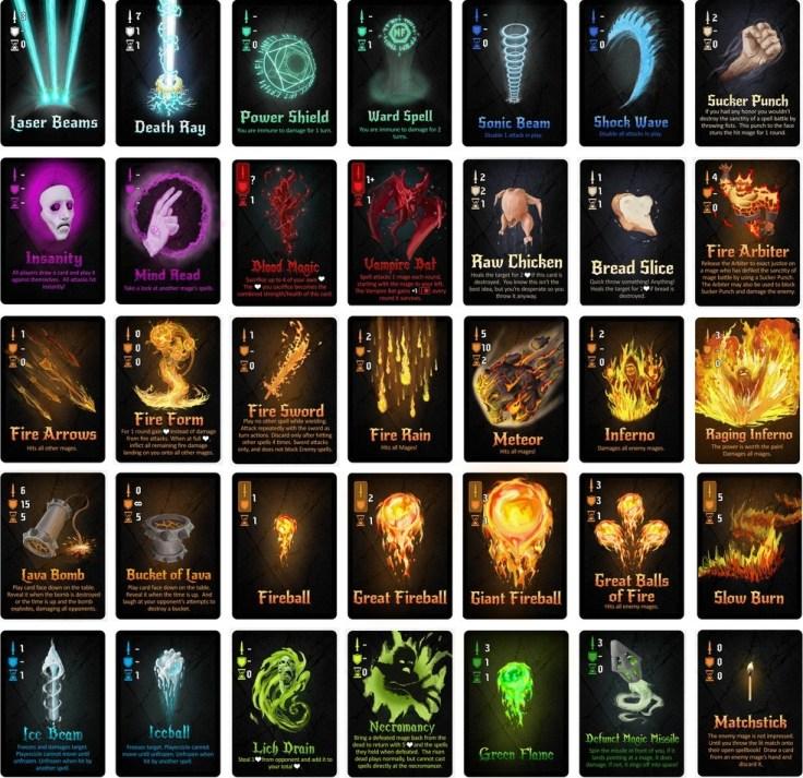 fireball cards