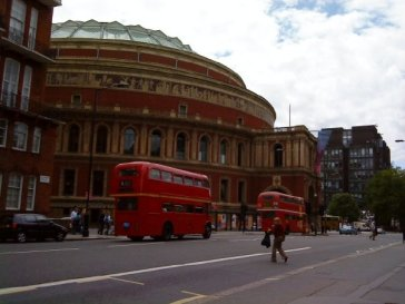red london busses
