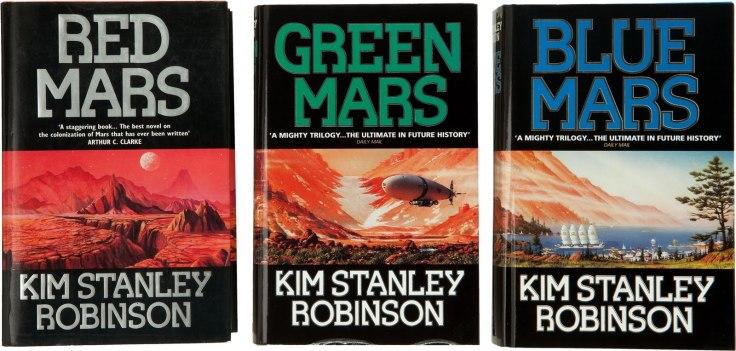 red mars blue mars green mars