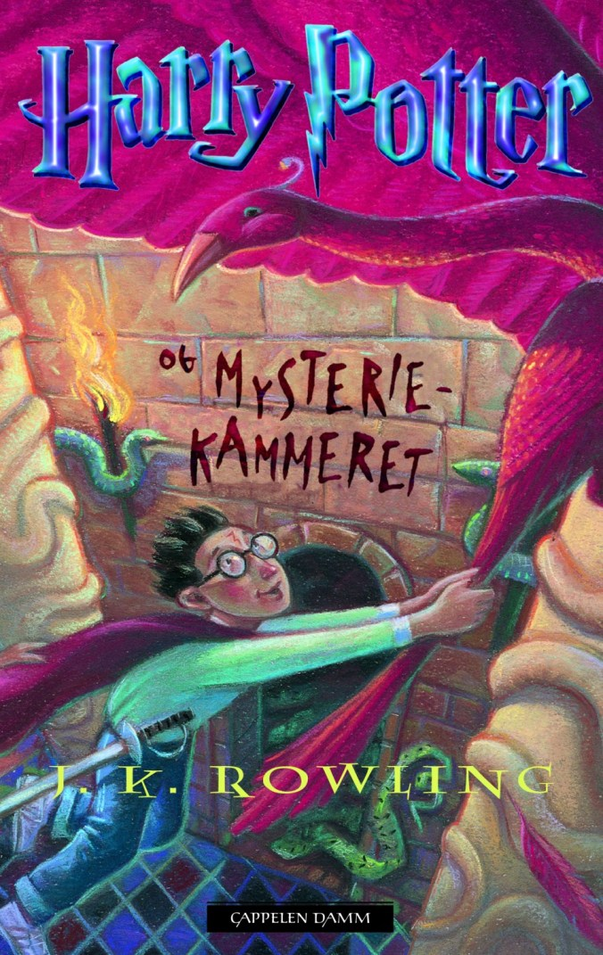 harry potter og mysterie kammeret norsk norwegian cover