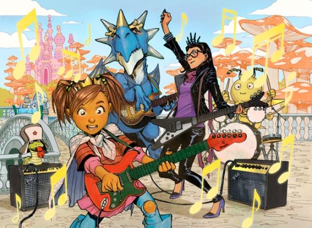 The Princess Who Saved Her Friends comic graphic novel joco jonathan coulton