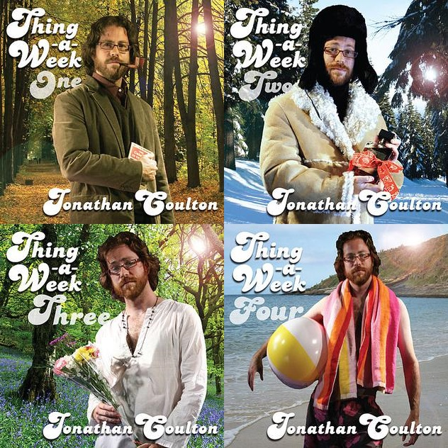Thing_a_Week_One_Two_Three_Four album albums cover covers jonathan coulton