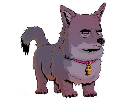 anubis dog of death comic