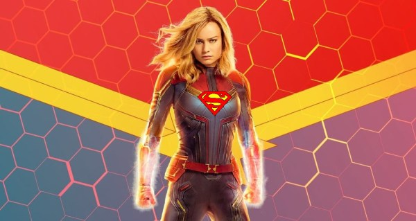 captain marvel superman