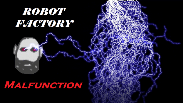 robot factory malfunction electronic music video