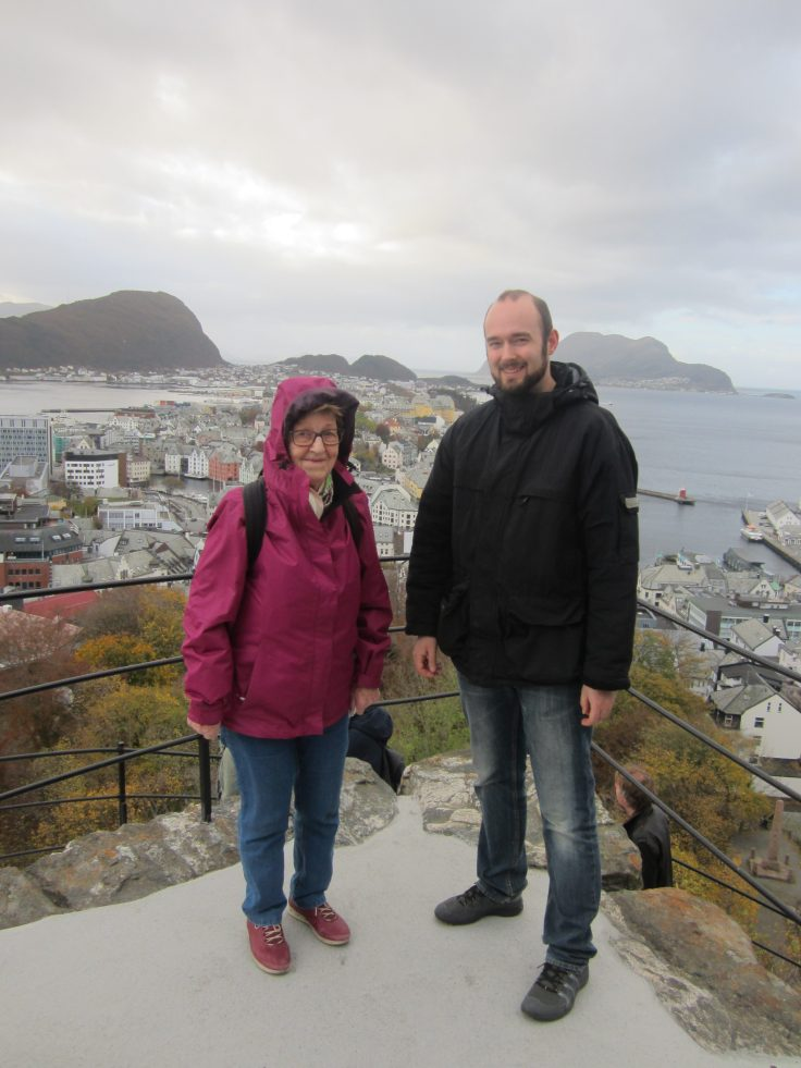 Visiting My Grandmother in Ålesund