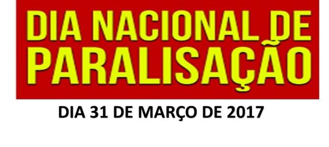 PARADA NACIONAL – 31-03-2017