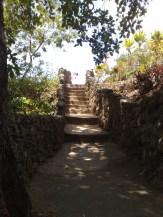 Weg zu Lagune
