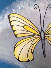 Nahansicht Schmetterling