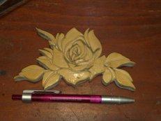 Holz Rose