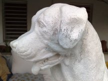 Restauration Hundestatue