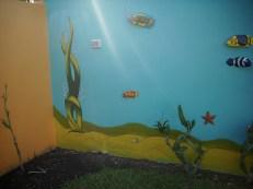 Wanddekoration Unterwasser Landschaft