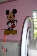 Mickey Mouse gemalt