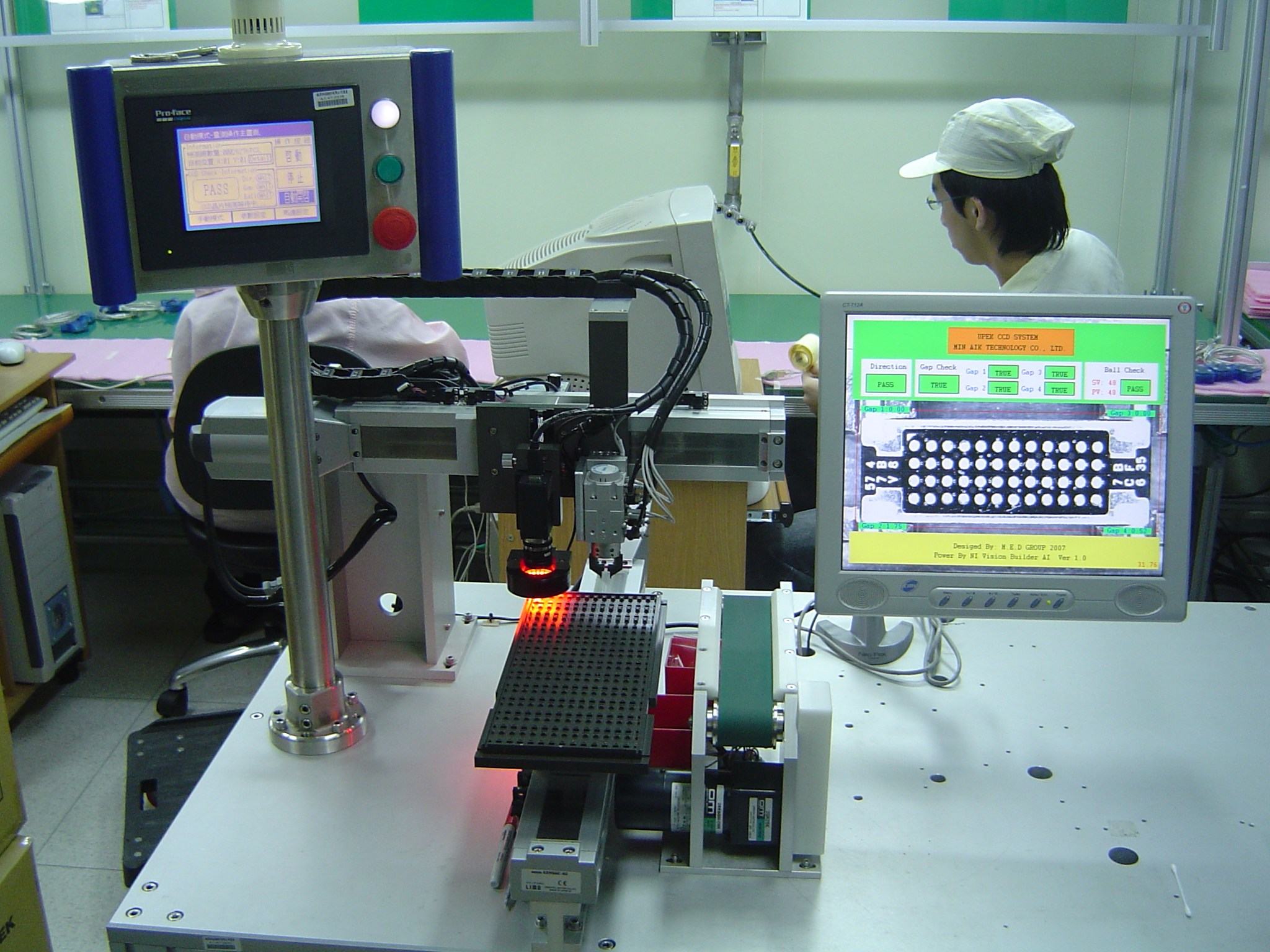 Compact Vision System用於銘異科技指紋辨識IC檢測機臺 - Solutions - National Instruments
