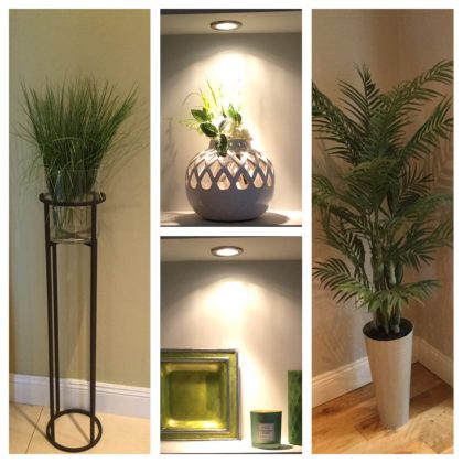 Faux foliage and all things green