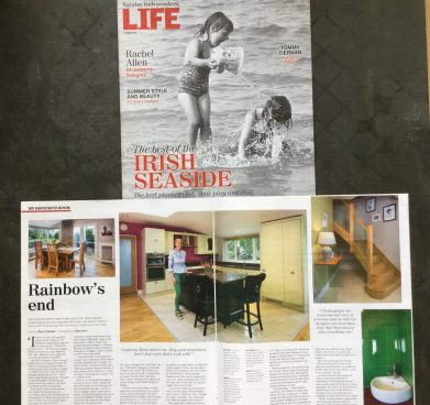 Sunday Independent -feature on My Favourite Room