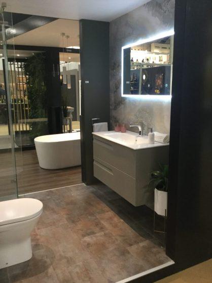 RDS My bathroom pod display on the Sonas Bathroom stand