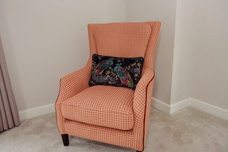 Home of the Year collaboration - occasional Harvard chair from Finline.