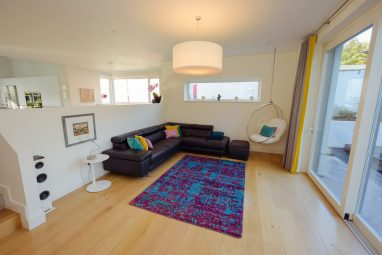 Home of the Year collaboration - Sari Silk rug from @rugs.ie, scatters from @interiosity & @sineadcassidydesign