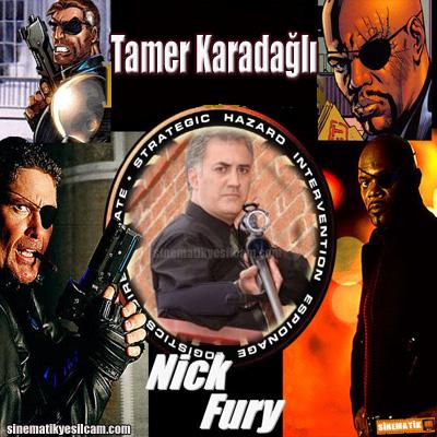 Nick Fury tamer karadali