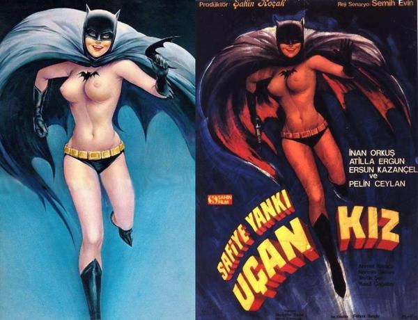 bat girl vs ucan kiz