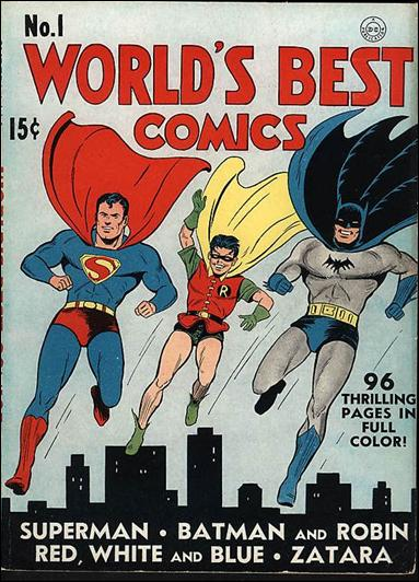 Superman Batmanlı ilk kapak 1941