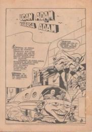 Uçan Adam Süpermen içindeki Uçan Adam ve Yarasa Adam 1958