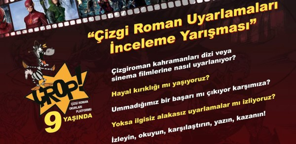 Çizgi Roman Uyarlamaları İnceleme Yarışması banner