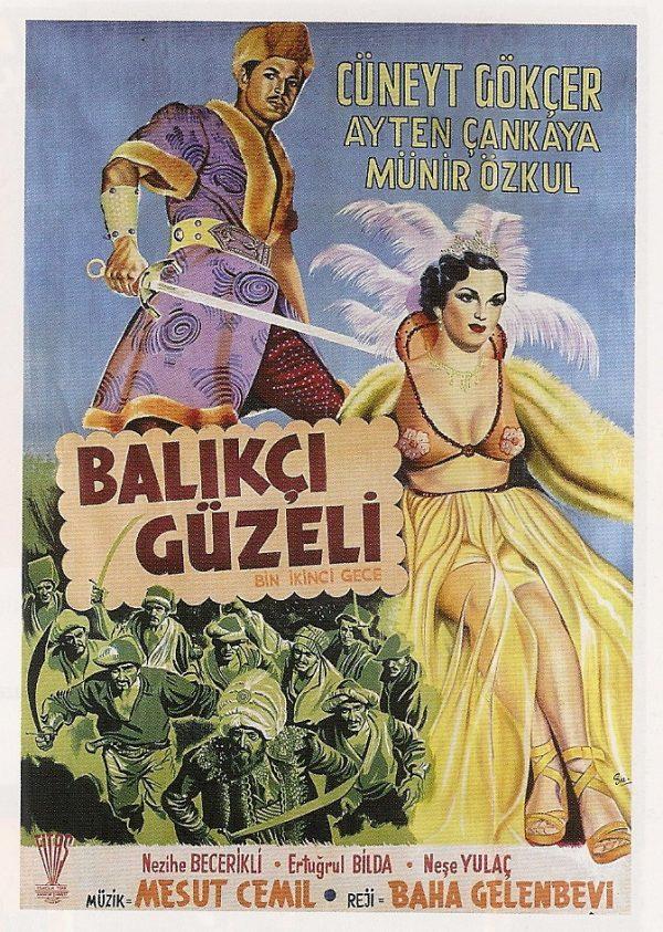 BALIKÇI GÜZELİ - BİN İKİNCİ GECE (1953) Balıkçı Güzeli