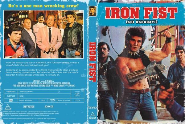 diy dvd Asi Kabadayı Iron Fist Serdar - Çetin İnanç