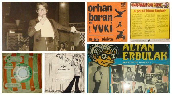Ölümsüz sanatçı Altan Erbulak - şovmen-şarkıcı kimliği, çıkardığı ve katkı verdiği plaklarla Sinematik Yeşilçam sayfalarında sizlerle buluşuyor.
