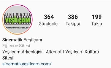 instagram sinematik yeşilçam