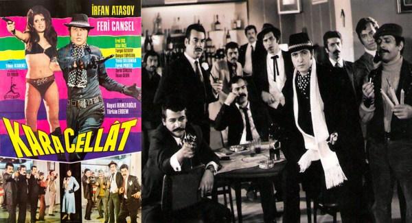Usta yönetmen Yılmaz Atadeniz ile İrfan Atasoy işbirliği olan avantür klasiğimiz Kara Cellat (1971)