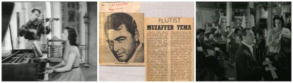 Yeşilçam'ın unutulmaz aktörlerinden Muzaffer Tema'nın konservatuvarda başlayıp Yeşilçam'a uzanan müzik kariyerini, Sabahattin Bilgiç derledi. Muzaffer Tema
