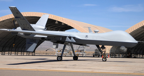 Modelo de los drones usados por el ejército de EU en operaciones de Irak y Afganistán. Foto: Departamento de Defensa de EU