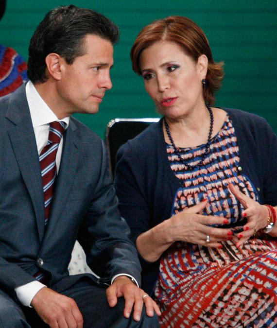 Peña Nieto y Rosario Robles. La transformación consumada. Foto: Cuartoscuro