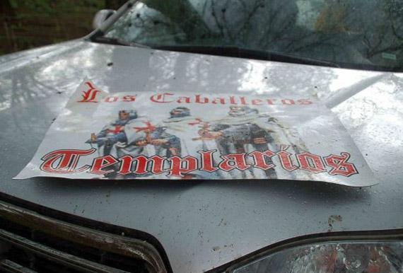 Vehículo de la organización criminal incautado por el Ejército. Foto: Archivo