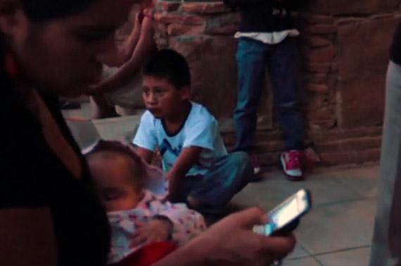 La comunidad, aislada, ahora está comunicada. Foto: Vimeo