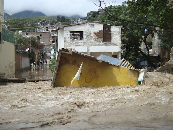 Daños en Guerrero. Foto: Cuartoscuro