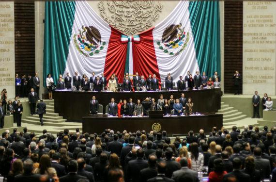 Inicio de sesión del periodo ordinario del Congreso de la Unión. Foto: Francisco Cañedo, SinEmbargo